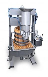 Hidraulična presa sa mlinom